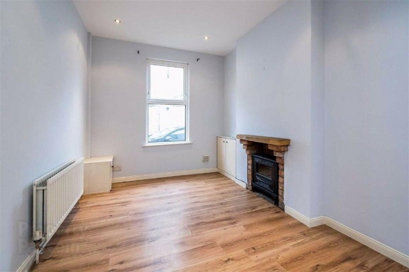 Sitting room in 27 King Street, Bangor. Refurbished town house for sale from JS Property Sales, Northern Ireland
