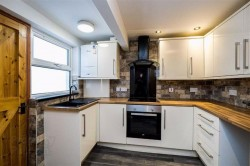 Kitchen in 27 King Street, Bangor. Refurbished town house for sale from JS Property Sales, Northern Ireland