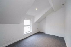Bedroom in 27 King Street, Bangor. Refurbished town house for sale from JS Property Sales, Northern Ireland